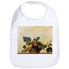 Caravaggios Basket of Fruit Bib