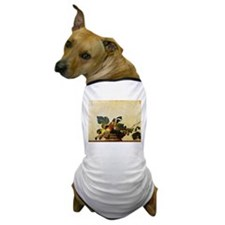 Caravaggios Basket of Fruit Dog T-Shirt