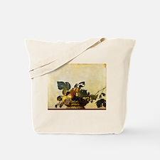 Caravaggios Basket of Fruit Tote Bag