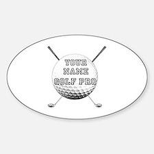 Custom Golf Pro Decal