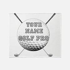 Custom Golf Pro Throw Blanket