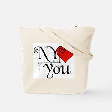 I Love SF-NY Loves You Tote Bag