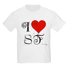 I Love SF-NY Loves You Kids T-Shirt