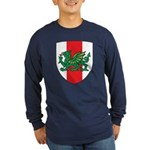 Midrealm Ensign Long Sleeve colored T-Shirt