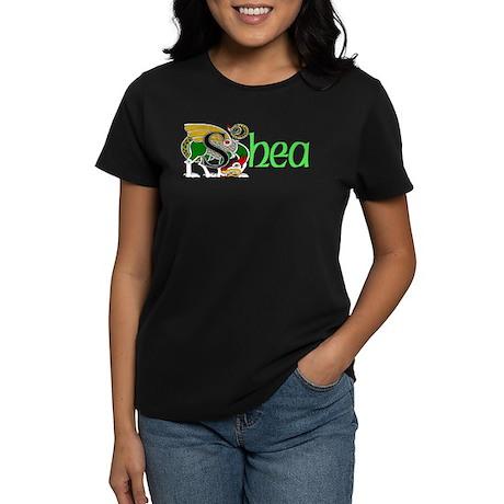 Shea Celtic Dragon Women's Dark T-Shirt