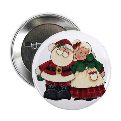 Mr. & Mrs. Claus Button