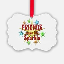 Friends Sparkle Ornament