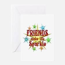Friends Sparkle Greeting Card