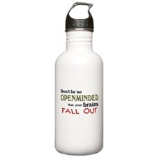 Openminded...or Brainless? Water Bottle