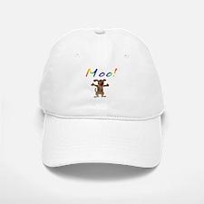 Mooing Dog Baseball Baseball Cap