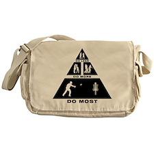 Disc Golf Messenger Bag