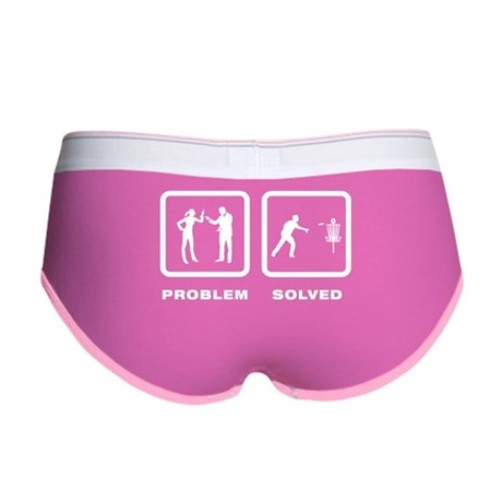 Disc Golf Women's Boy Brief