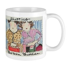 shopping bosombuddies mug