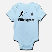 Disc Golf Infant Bodysuit