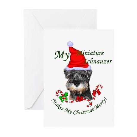 Miniature Schnauzer Greeting Cards (Pk of 20)