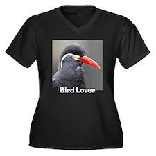 Bird Lover! Inca Tern Women's Plus Size V-Neck Dar