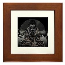 Buddha Vinyl Framed Tile