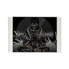 Buddha Vinyl Rectangle Magnet