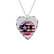 2nd Infantry Division Veteran Necklace