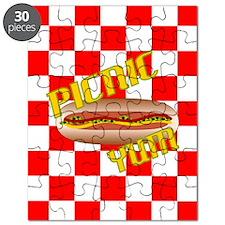 Picnic Hotdog Puzzle