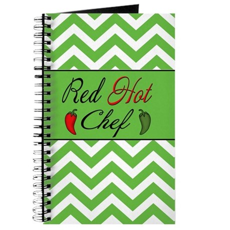 Red Hot Chef Journal Journal