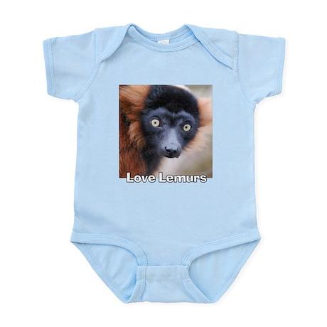 Love Lemurs Infant Bodysuit