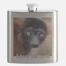 Love Lemurs Flask
