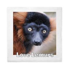 Love Lemurs Queen Duvet