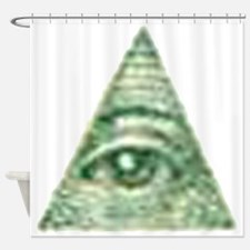 ALL Seeing EYE X.psd Shower Curtain