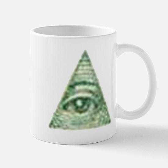 ALL Seeing EYE X.psd Mug