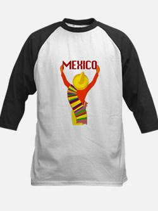 Vintage Mexico Travel Baseball Jersey