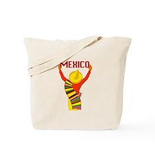 Vintage Mexico Travel Tote Bag