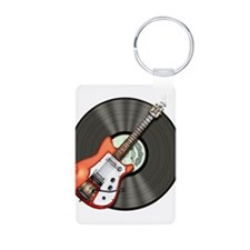 Vintage Guitar Keychains