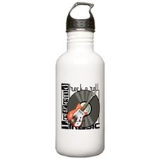 Vintage Guitar Water Bottle