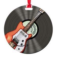 Vintage Guitar Ornament