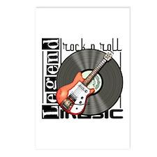 Vintage Guitar Postcards (Package of 8)