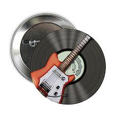"""Vintage Guitar 2.25"""" Button"""