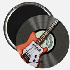 """Vintage Guitar 2.25"""" Magnet (100 pack)"""