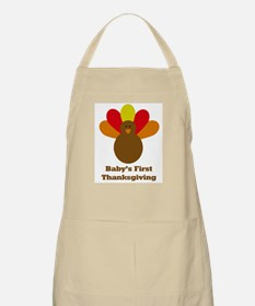 Baby's first thanksgiving BBQ Apron
