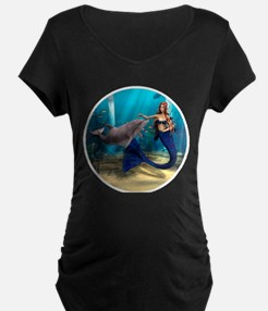Mermaid and Dolphin T-Shirt
