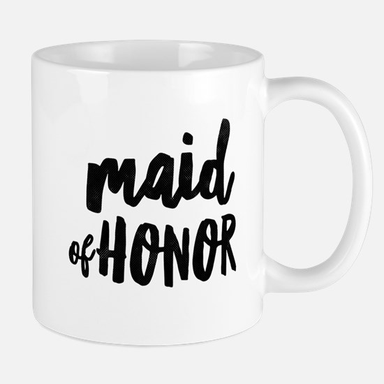 Wedding Party- Maid of Honor Mugs