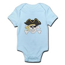 Pirate Face Body Suit
