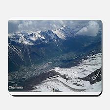 Chamonix Valley View Mousepad