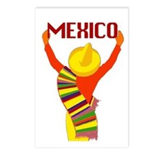 Vintage Mexico Travel Postcards (Package of 8)