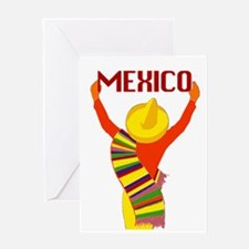 Vintage Mexico Travel Greeting Card