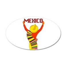Vintage Mexico Travel Wall Decal