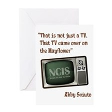 MAYFLOWER TV Greeting Card