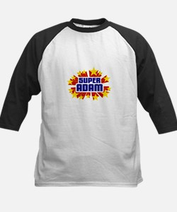 Adam the Super Hero Baseball Jersey