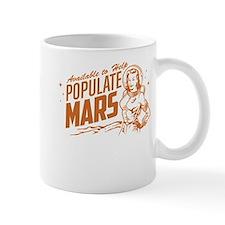 Available To Populate Mars (Woman) Mug