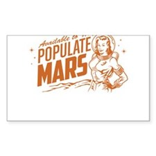 Available To Populate Mars (Woman) Decal